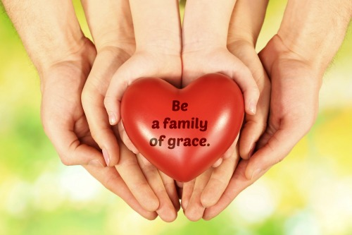 How to be a grace based parent