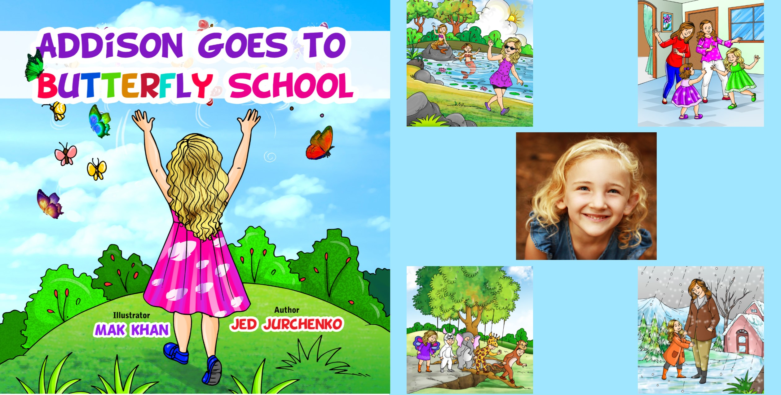 Addison Goes to Butterfly School
