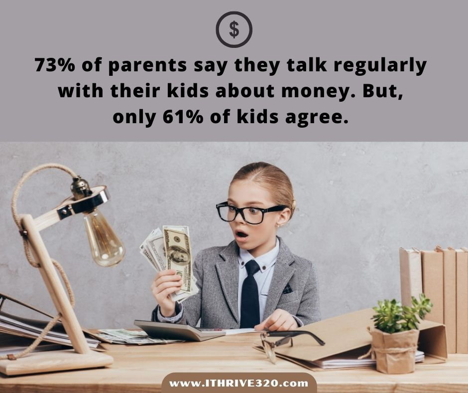 Having conversations about money with kids