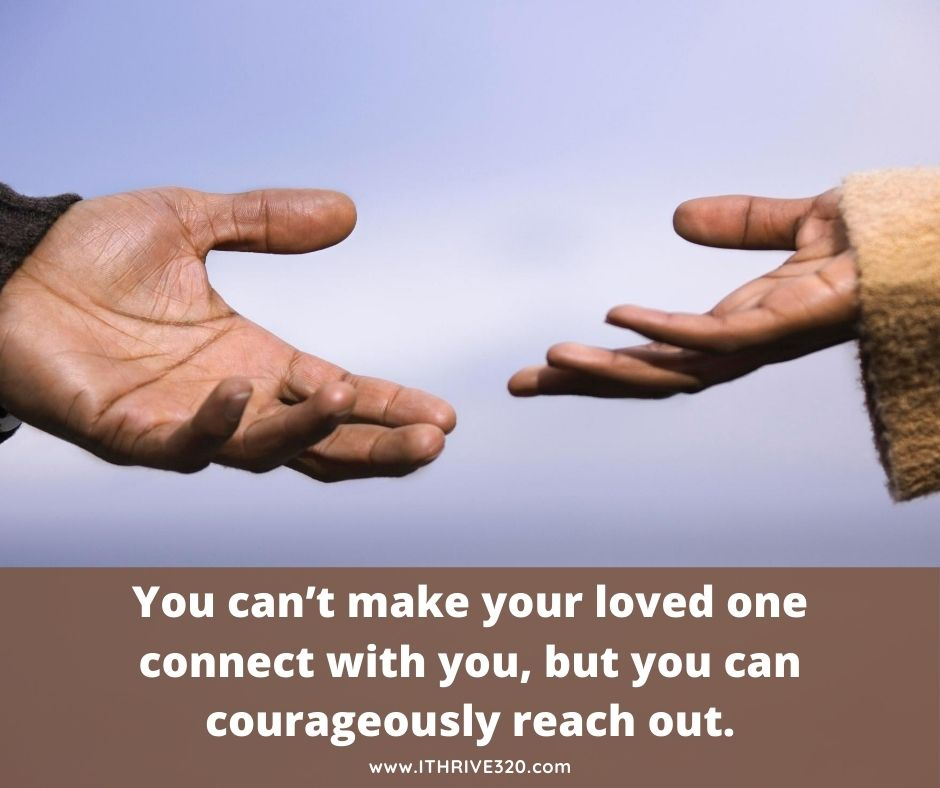 Grow your relationship by reaching out