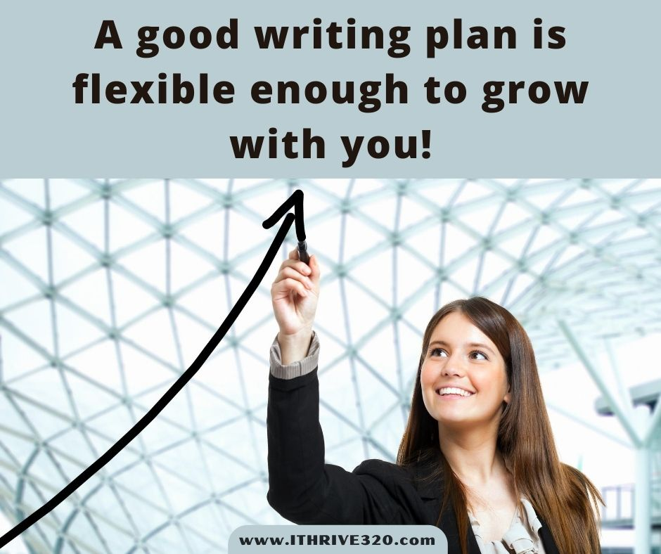 A flexible writing plan quote