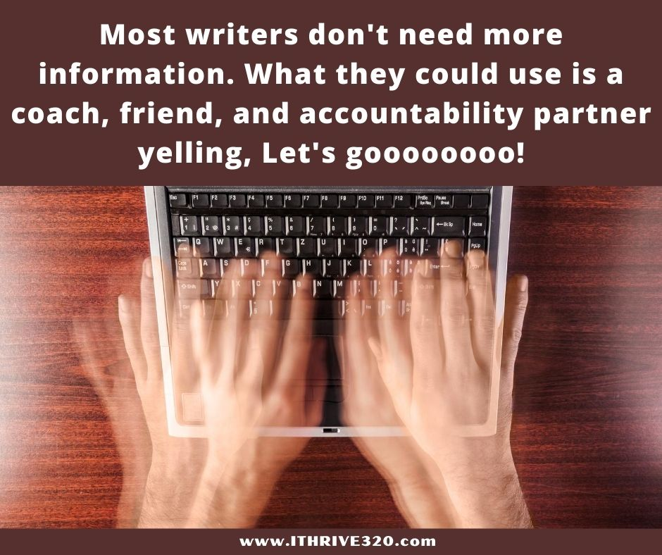 A writing coach to help with your writing plan.