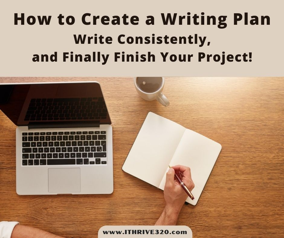How to create a writing plan