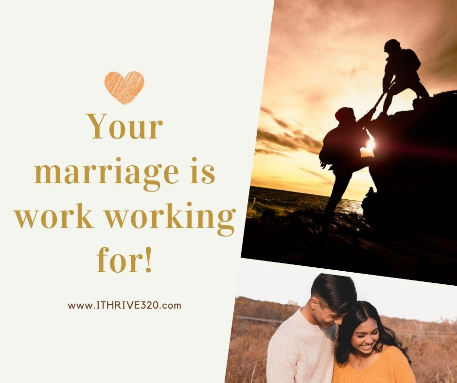 Your marriage is worth working for