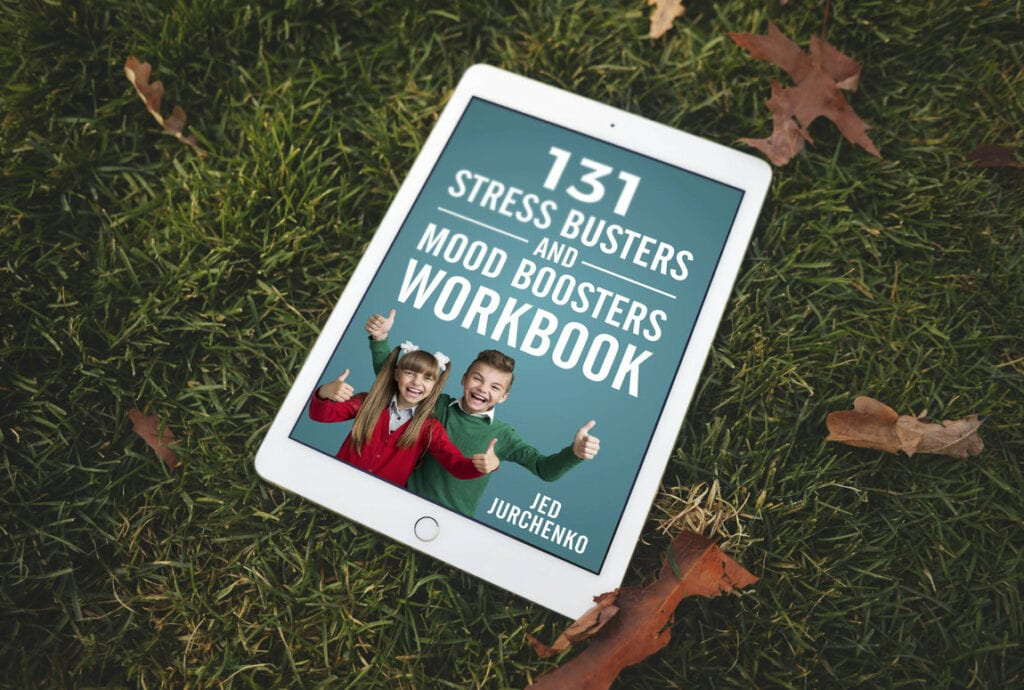 131 Stress Busters and Mood Boosters for Kids Workbook: A self-care workbook for kids and parents