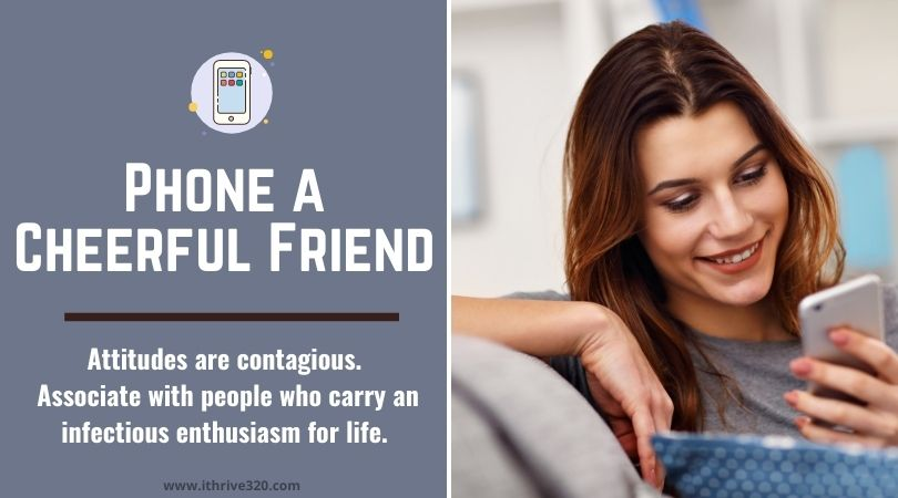 Caring for yourself with friendship