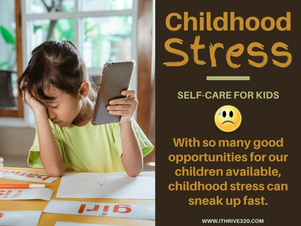 Childhood Stress Quote