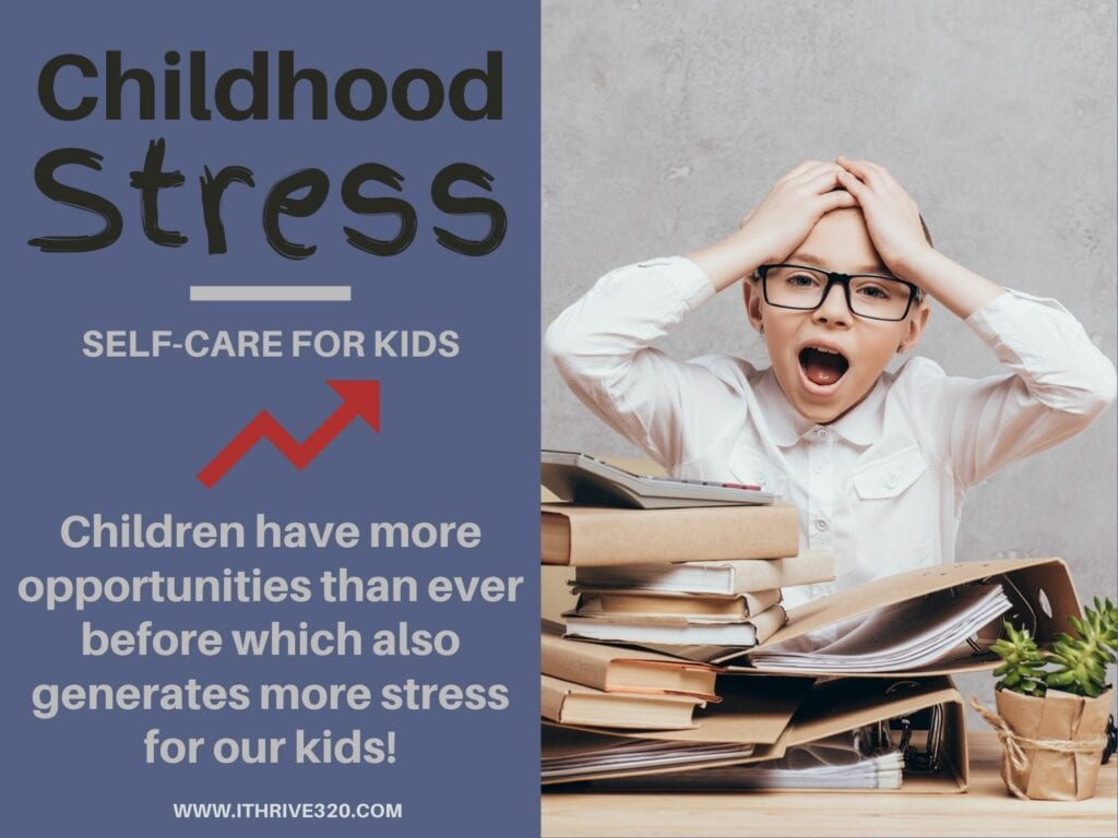 Childhood Stress Trends Quote