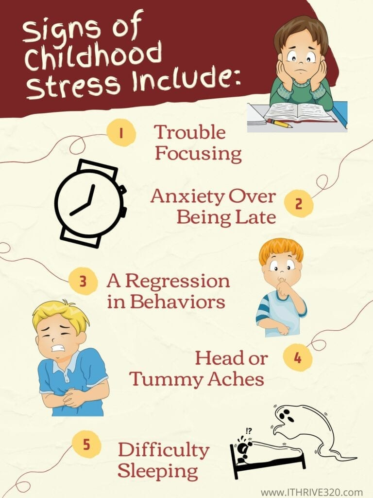 Five Signs of Childhood Stress