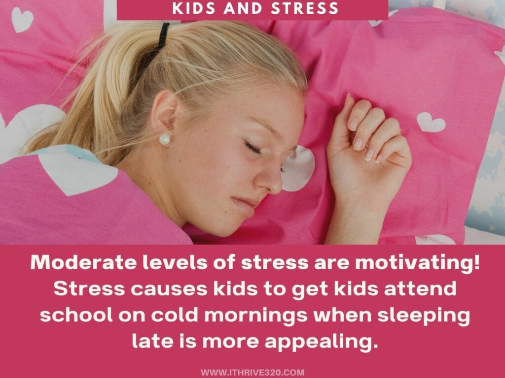 Childhood stressors and moderate stress level benefits