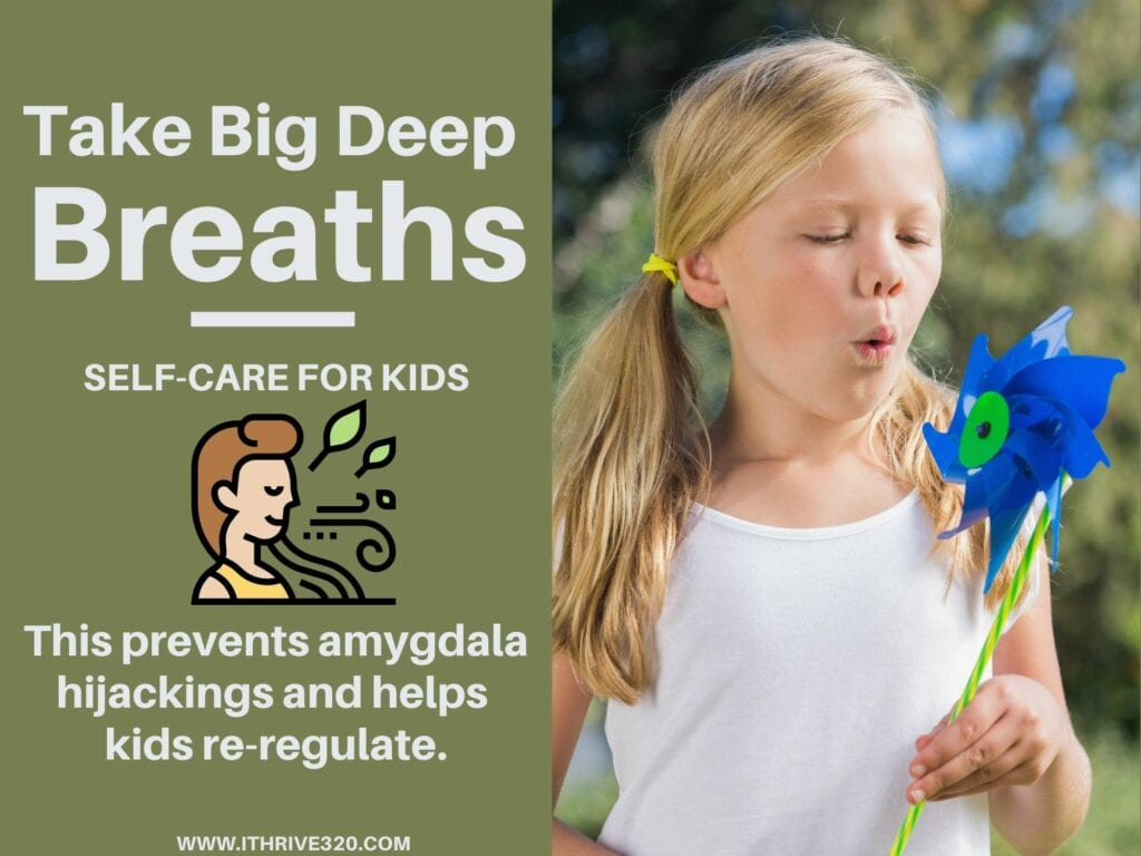Self-Care for Kids: Take Deep Breaths